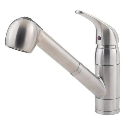 Pfister Pfirst F 529 7ryc Single Handle Kitchen Faucet Pull Out Kitchen Faucet Best Kitchen Faucets Stainless Kitchen Faucet