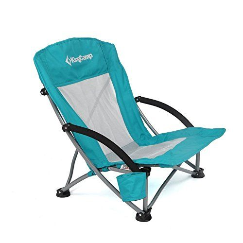 KingCamp Low Sling Beach Camping Folding Chair with Mesh