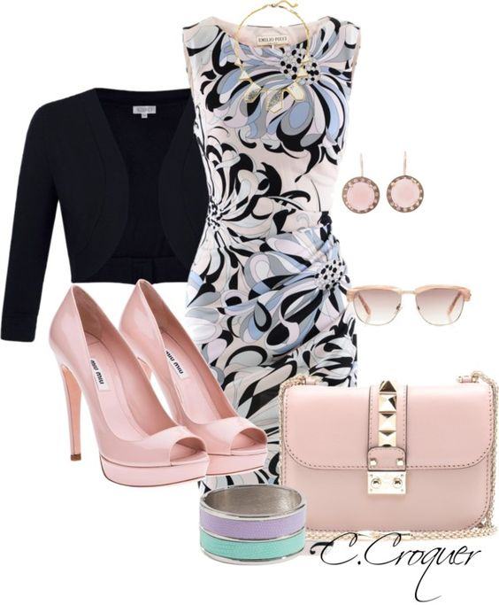 """Classy"" by ccroquer ❤ liked on Polyvore"