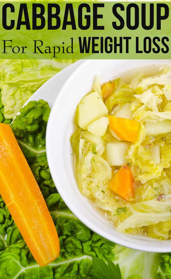 Cabbage Soup Diet For Rapid Weight Loss