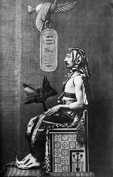 Pierre Loti-(1850-1923)-wearing Egyptian  attire