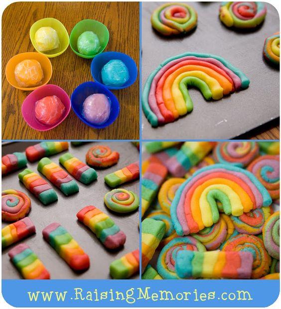 Edible playdough cookies!