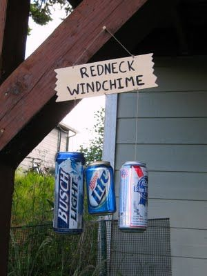 Redneck Party idea - For the next White Trash Bash at the lake?? This is for Bob  #Repin By:Pinterest++ for iPad#