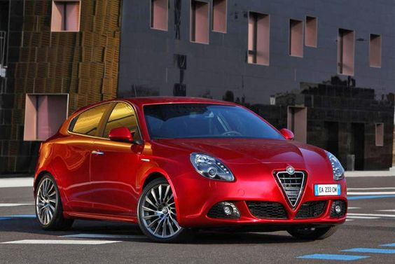 You'll find this Alfa Romeo Giulietta not on American roads but on European roads because of its narrow design