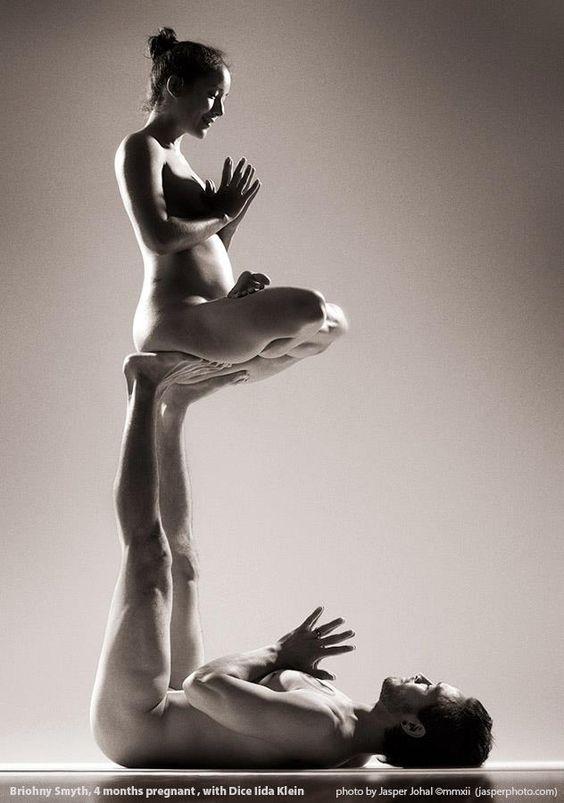 Beautiful naked yoga-4772