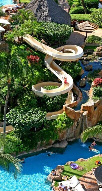 What? Disney have a resort and spa in Hawaii with a water park? I'd love to go!