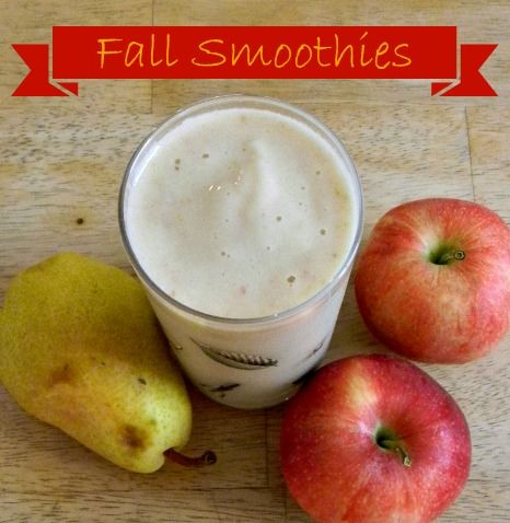 Cinnamon Pear Smoothie All you need is: 2 pears (cored and quartered ...