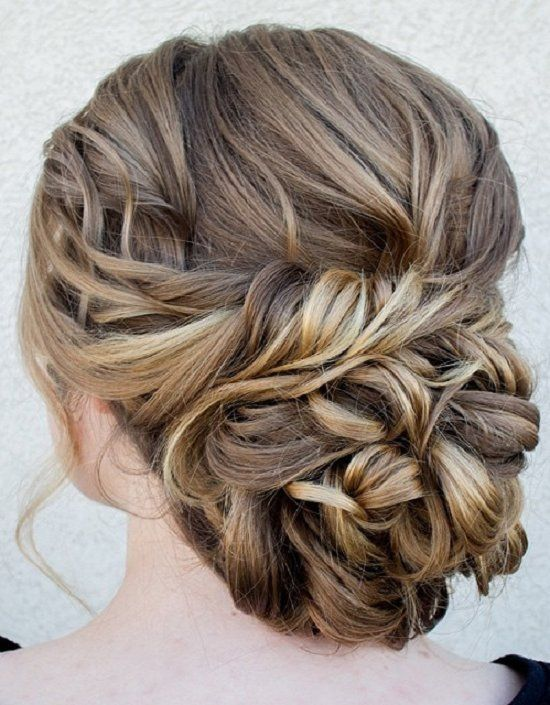 Superb Chignon Bun Hairstyles For Weddings And Chignons On Pinterest Hairstyles For Women Draintrainus