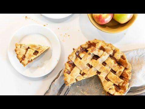 Caramel Apple Pie Youtube In 2020 Caramel Apples Baking Apple Pie