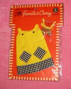1968 Francie Fashion Pak Cool It!