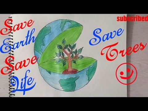 15+ Best New Save Earth Poster Stop Pollution Drawing