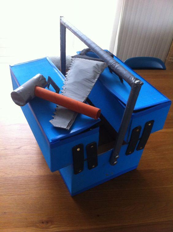 Sinterklaas surprise gereedschapskist sinterklaas for Huis maken surprise