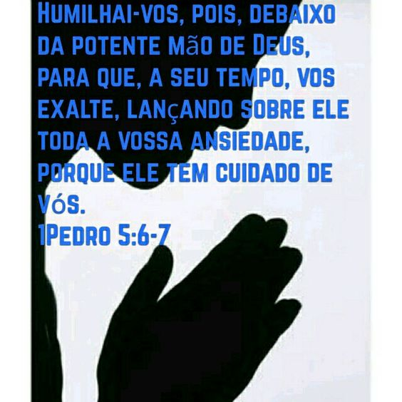 Se humilhe diante De Deus ...