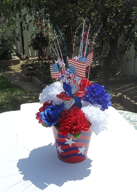 memorial day artificial flowers