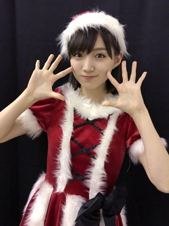 サンタ姿の太田夢莉