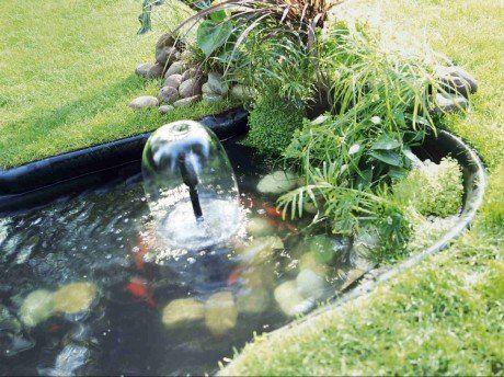 Installer un bassin sur bâche