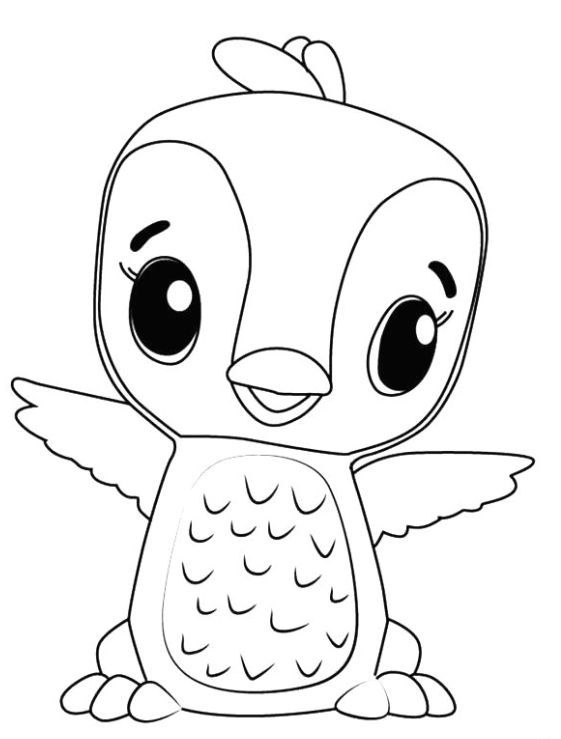 Hatchimals Coloring Page Coloring Pages Free Kids Coloring Pages Abstract Coloring Pages