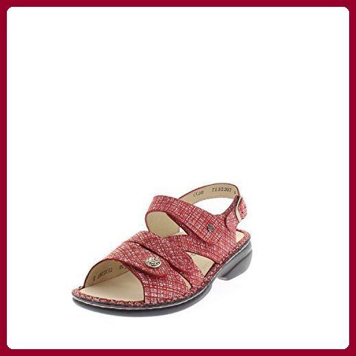 Partnerlink Damenschuhe Sandalen Comfort Sandale Einlage Gomera Bequem Mirage Frauen Leder Finn Lose Rot Frfinn Comfort Gomera Damenschuhe Rots