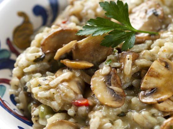 Mushroom risott