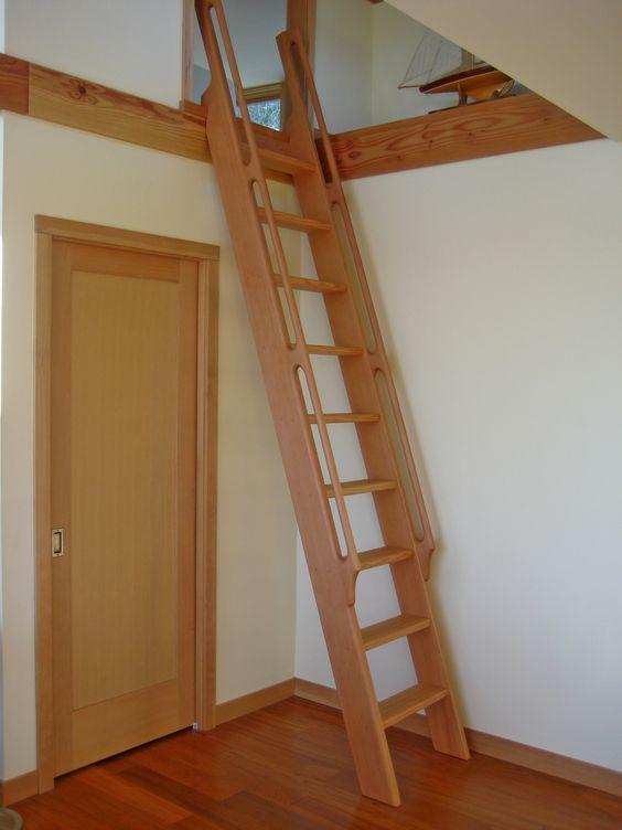 Ladder Loft And Ships On Pinterest