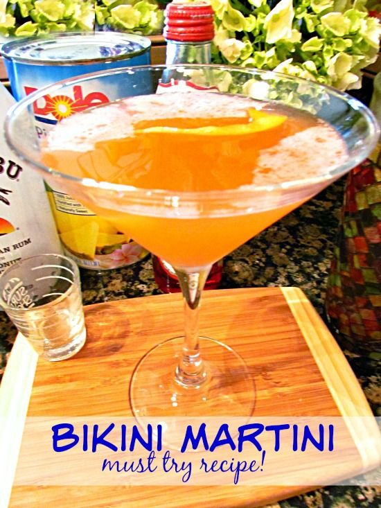 Bikini Martini is fruit, sweet and makes me think of the beach. It's the perfect cocktail recipe! A beautiful drink that's as irresistible as it looks!