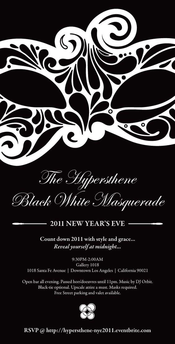 poster/flyer idea? | Wedding & Showers | Pinterest | Masquerade ...