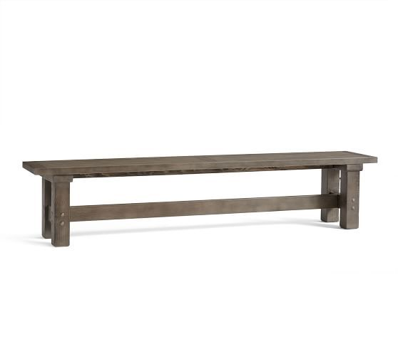 Dining Kitchen Benches Pottery Barn With Images Wood Dining Bench Upholstered Dining Bench Dining Bench