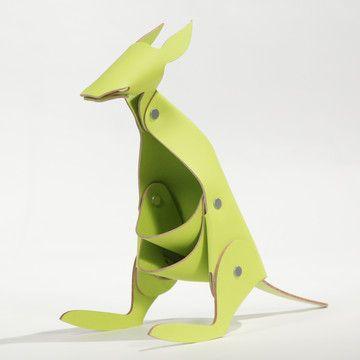 Organizer Känguru Grün