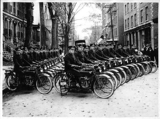 Montreal police motorcycle squad...1918.: Harley Davidson, Motorcycles Police, Historic Motorcycles, Harley Police, Davidson Motorcycles, Police Motorcycles, Motorcycle Police, Police Bikes