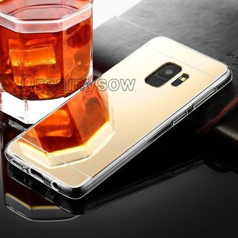 Original Luxury Mirror Tpu Cases For Samsung Galaxy J4 J6 2018 A3 A5 A7 J3 J5 J7 2017 S9 S8 Plus S6 S7edge Grand Luxury Mirror Grand Prime Case Samsung Galaxy