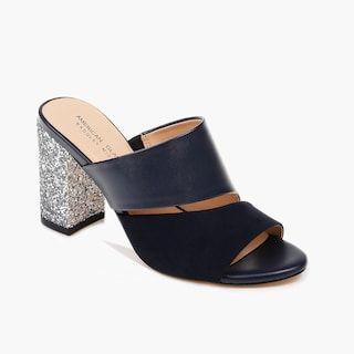 Slow Heels Casual Mule Sandals shoes womenshoes footwear shoestrends