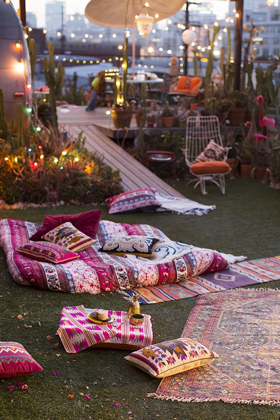 boho areas in park