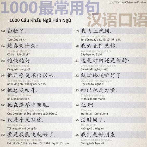 1000 Câu Khẩu Ngữ - Phần 11: