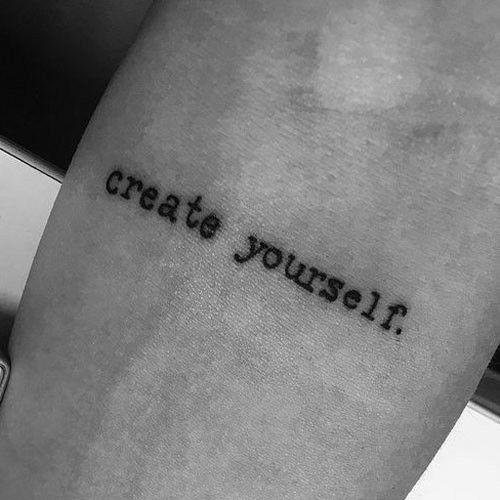 Tattoos ideen kleine männer Die besten