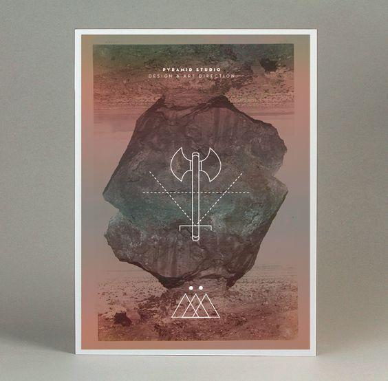 Posters by Pyramid Studio , via Behance