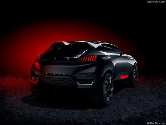Peugeot Quartz Concept Back View