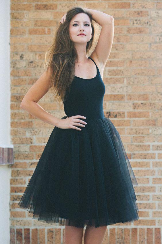 The Nima Dress - Black