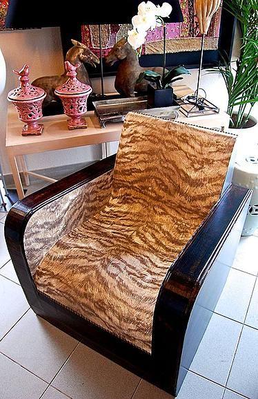 Vintage cardboard armchair