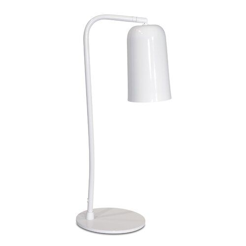Isabelline Jessica 58cm Arched Table Lamp Touch Table Lamps Table Lamp Base Ceramic Table Lamps