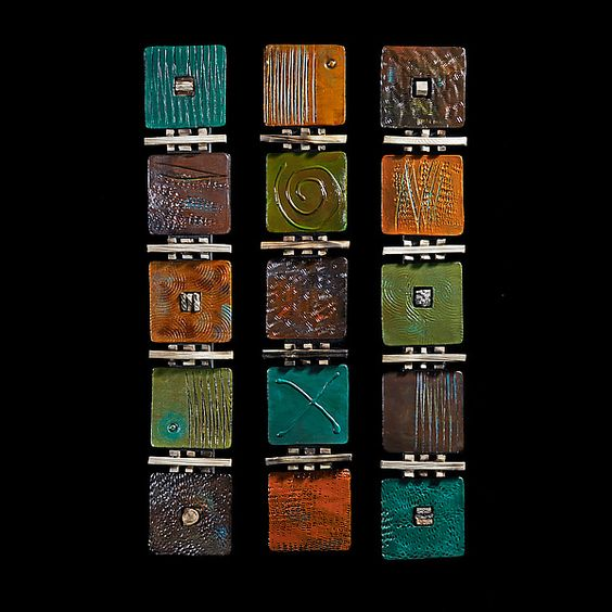 Signs Symbols and Codes: Rhonda Cearlock: Ceramic Wall Art - Artful Home