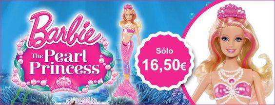 Por sólo 16,50€ regala estas Navidades la Princesa de la Perla ;)