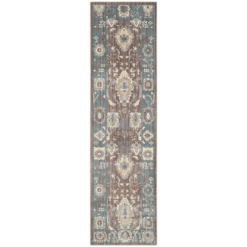 Found it at Wayfair - Valencia Chocolate/Alpine Area Rug