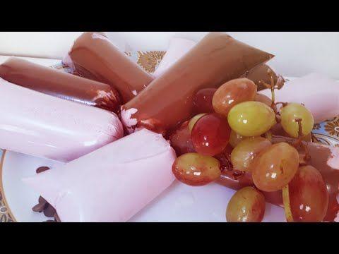 Geladinho Gourmet De Uva Na Casquinha De Chocolate Youtube