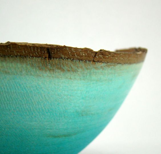 Just Blue - Sycamore Bowl. $42.00, via Etsy.