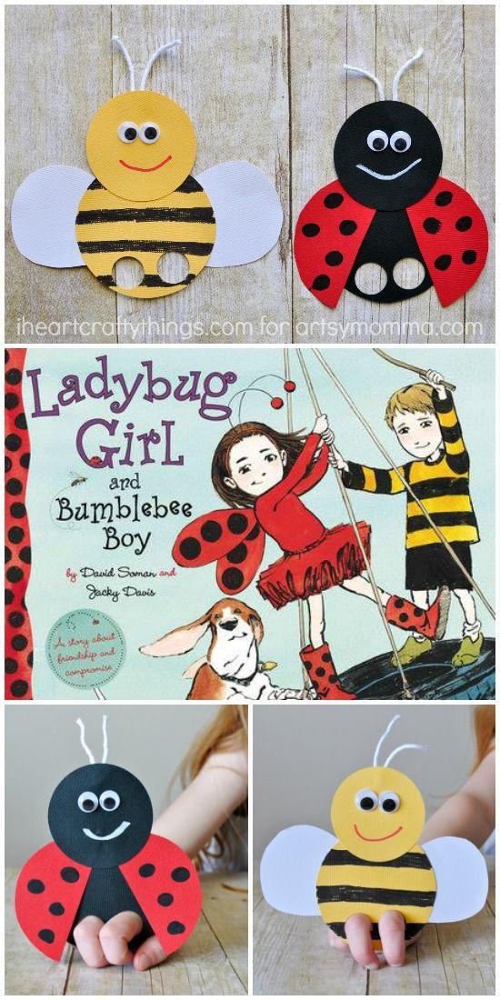 bee finger puppet template - mega adorable ladybug finger puppet boys girls and fingers