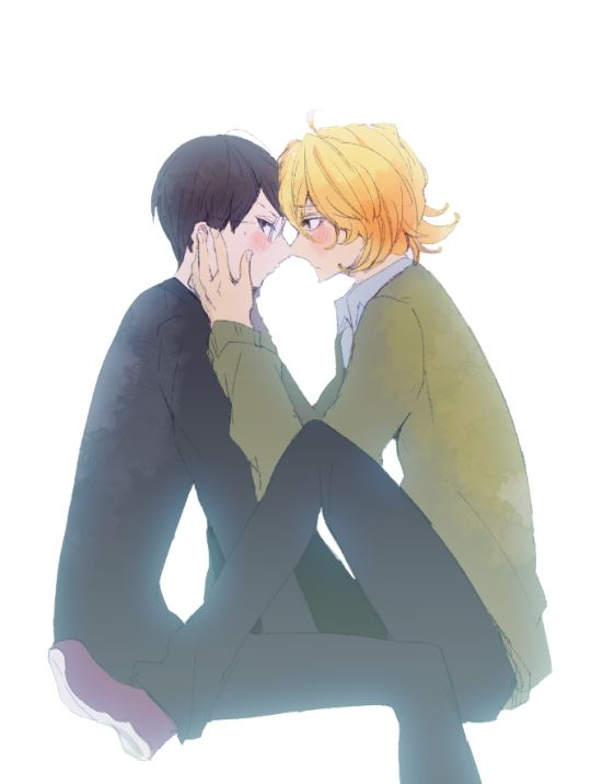 okay i wish doukyuusei was a show instead of a movie i NEED more fluff