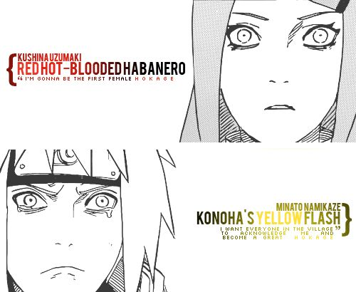 The feels, bruh....  #Minato #Kushina