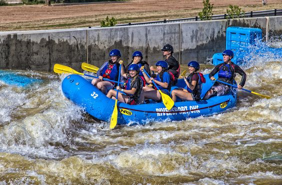 https://flic.kr/p/GYwwDx | Having a Great Day! | Riversport OKC white water rapids in Oklahoma City.