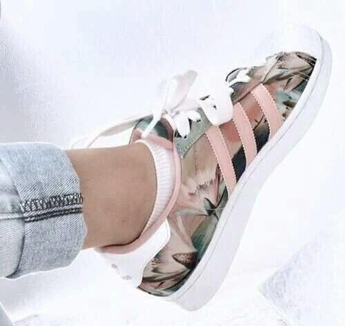 Adidas Sneaker Rosa Streifen