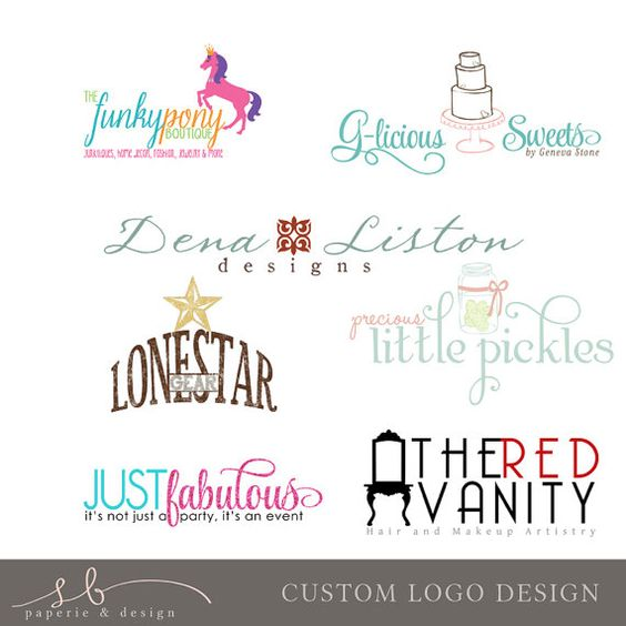 Custom Logo Design Business Marketing Custom Logos Logo Design